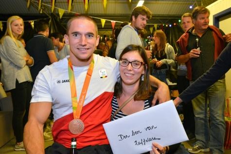 Jonas Van de Steene terugkeer uit Rio