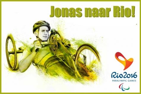 Jonas Van de Steene naar Paralympics in Rio