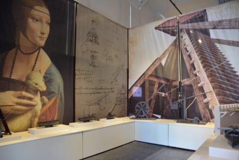 Wereldpremière 'Leonardo Da Vinci' in Brugge