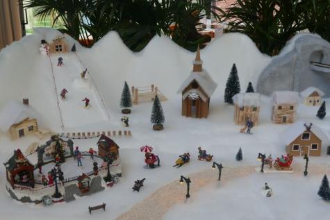 Winterlandscahp Fazantenhof Lochristi