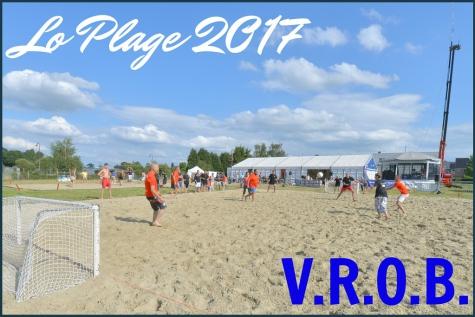 "Lo Plage en VROB: een weekend ""Lochristi aan zee"""