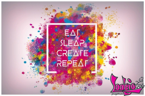 """Eat, Sleap, Create and Repeat"" – Creatieve Paasvakantie in JH Lodejo"
