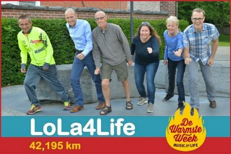 Lola4Life: (mee)lopen voor de warmste week!