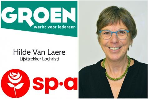 Groen en sp.a met Hilde Van Laere als lijsttrekker