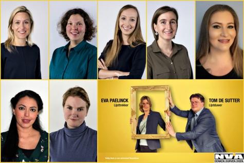 7 vrouwen voorgesteld N-VA