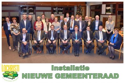 Nieuwe gemeenteraad 2019 - Lochristi