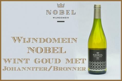 Goud Wijndomein Nobel Besdte Belgische wijn 2016
