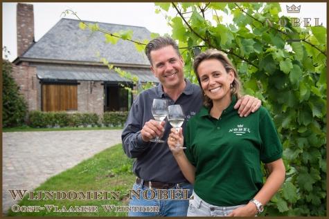 wijndomein nobel oost-vlaamse wijntoer 2018 Joris Van Duffel Laurence De Kerpel