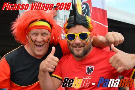 Picasso Village Lochristi WK voetbal