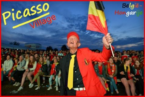 EK België Hongarije Picasso Village