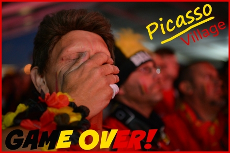 """Picasso Village: """"GAME OVER!"""" voor Rode Duivels"""