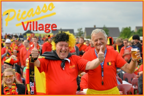 Picasso Village 2016: kleurt Lochristi rood?