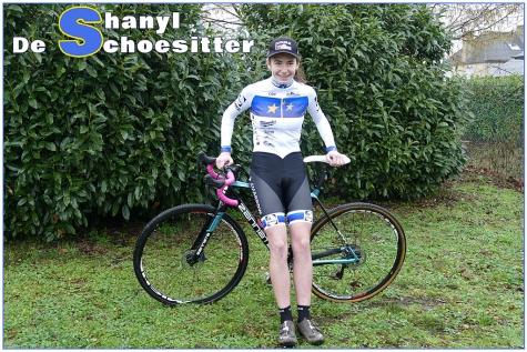 Shanyl De Schoesitter Europees kampioene
