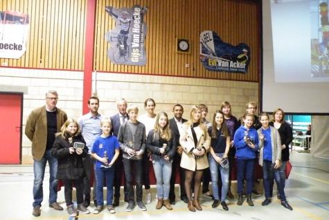 Kampioenenviering Lochristi 2015