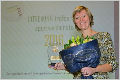 Kampioenenviering 2016 Tineke Boel