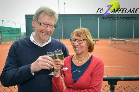 TC Zaffelare klinkt op nieuw seizoen en inhuldiging tennishal