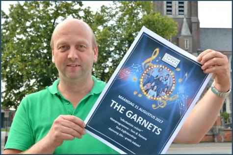 """Thierry Van Hecke laat """"The Garnets"""" nog één keer herleven!"""