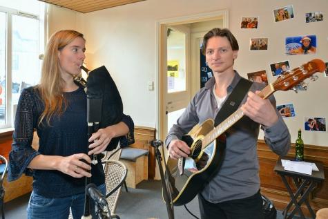 Laatste concert in LCC-Zaffelare met SoX Inge Smedts Tim Coulembier