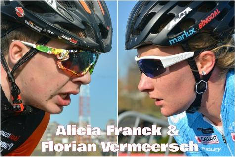 Het veldritweekend van Florian Vermeersch en Alicia Franck