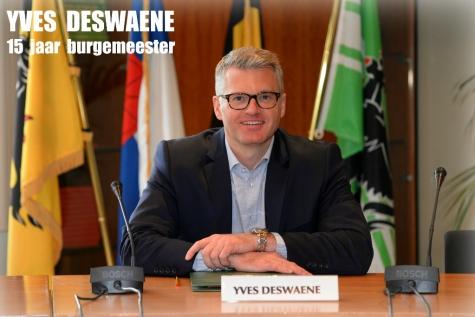 burgemeester Yves Deswaene lijstrekker 2018