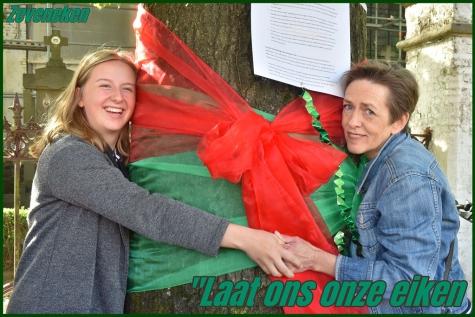 Tania van der Sanden steunt redding 7 eiken Zeveneken