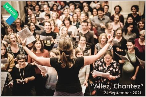 Allez Chantez - Lochristinaar - © Els Van Bosbeke