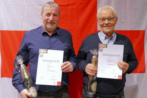 150 en 100 donaties bloed Rode Kruis Lochristi