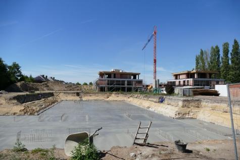 Burgemeesterspark Lochristi betonrapport Natuurpunt
