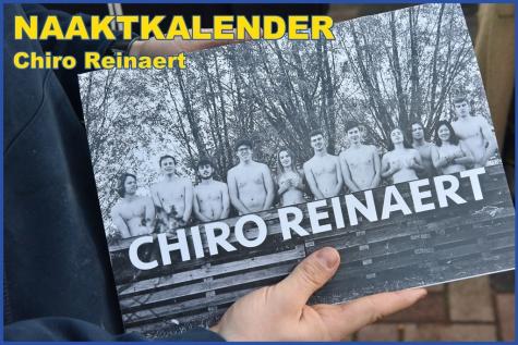 naaktkalender chiro Reinaert Lochristi