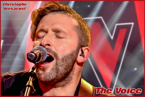 Christophe Versaevel - The Voice - Knockouts © VTM