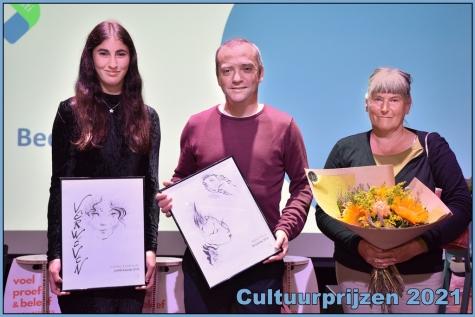 Cultuurlaureaat 2021 - © Bennie Vanderpiete