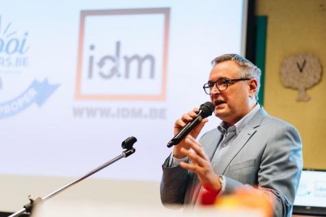 Nieuwe directeur IDM Danny Verbrugge