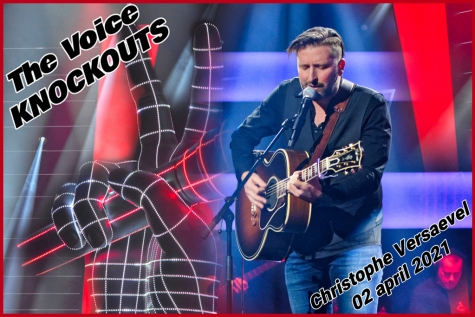 Christophe The Voice Knockouts © Bennie Vanderpiete