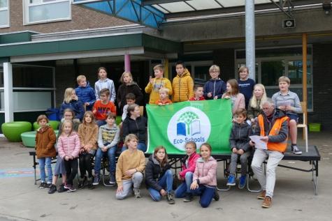 Groene vlag gemeenteschool Lochristi