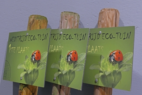 Prijsuitreiking Ecotuinwedstrijd Lochristi eco tuinen