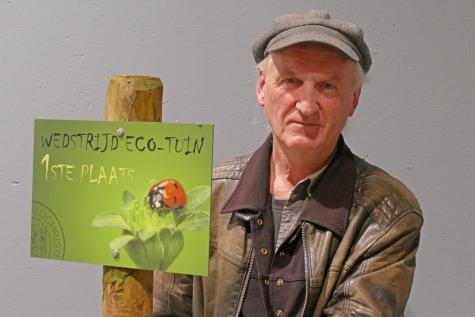Markus Bundervoet winnaar ecotuinwedstrijd Lochristi 2021