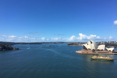 Eliza Moreels in Australië