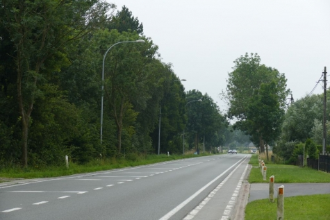 fietspad N449 Slagmanstraat Zaffelare