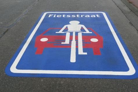 fietsstraat Koning Alberlaan Lochristi