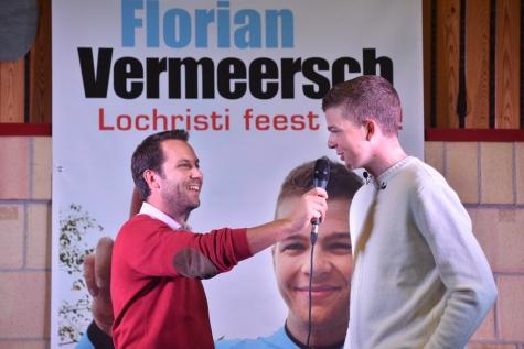 Florian Vermeersh huldiging - © Bennie Vanderpiete