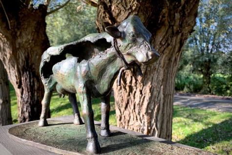 Geert Vanrysseghem bronzen beeld GAIA Willem Van Eelen