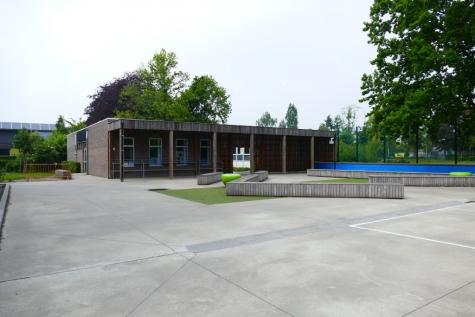 speelplaats gemeenteschool Lochristi centrum