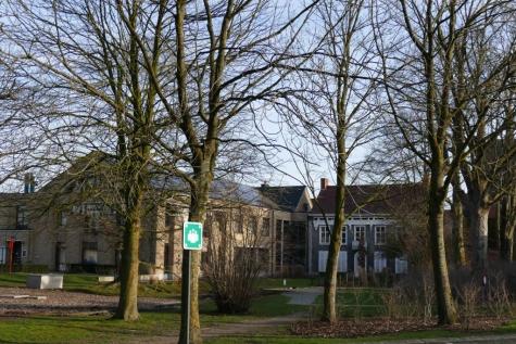 gemeentehuis Lochristi achterkant