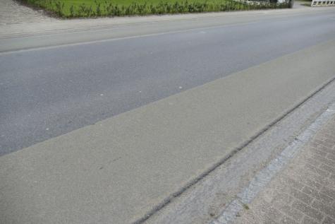 fietssuggestiestroken Stationsstraat Lochristi