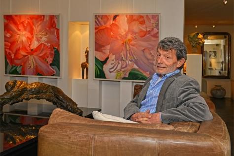 Hans Kitslaar overleden kunstenaar Lochristi