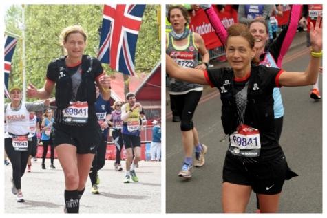 Hilde Dosogne marathon London