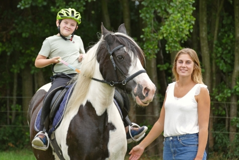 Melina Goetmaekere hippotherapie zaffelare