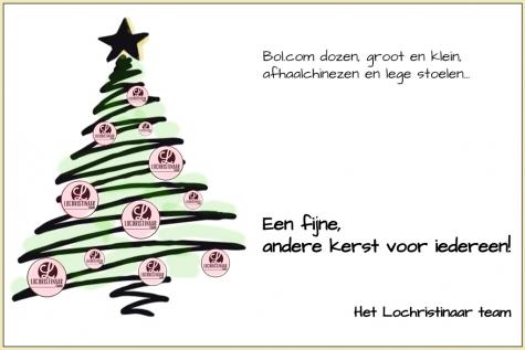 Kerstkaart 2020 © Lochristinaar Annick Gentier - Evarist Ganzelever