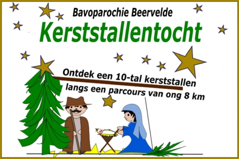 Kerststallentocht Beervelde © Bavoparochie