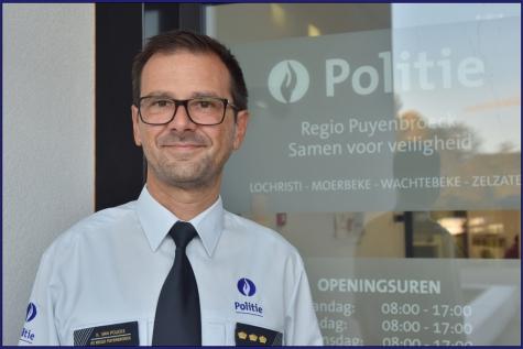 Koen Van Poucke Hoofdcommisaris Puyenbroeck
